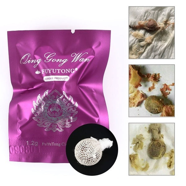 3/5/10Pcs Body Health Natural Women Herbal Womb Yoni Cleaning Healing Detox Pearls Tampons