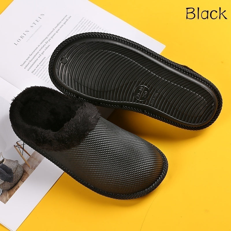 Warm Women's and Men's Indoor Slippers Environmentally Friendly Material Couples Shoes  Bedroom Shoes
