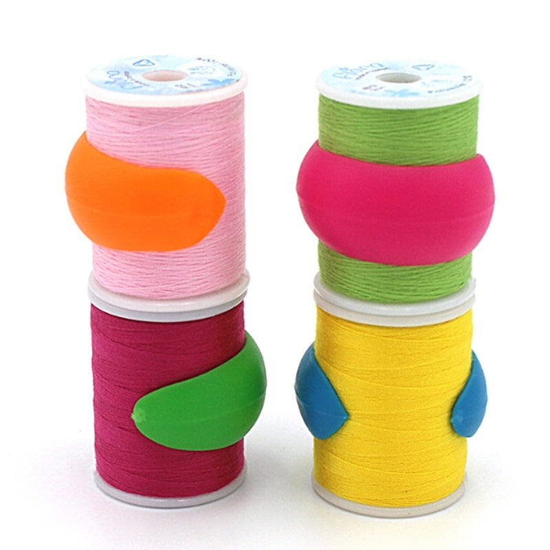 8pcs Thread Spool Huggers Keep Thread Spools From Unwinding Peels Sewing Tool