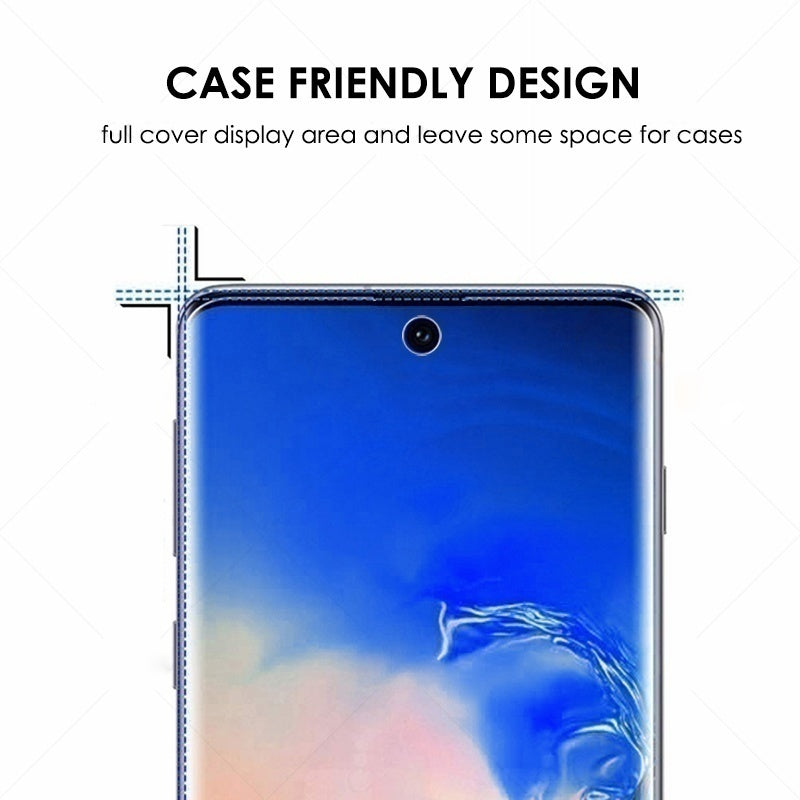 30D Curved Screen Protector Full Coverage Protective Glass Film for Samsung Note 10 Plus S10 S10e S10 Plus Note 9 Note 8 S9 S9 Plus