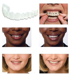 New Reusable Whitening Dentures for Flexible Cosmetics Comfortable Retouching Dental Care Accessories Temporary Dental Sheath