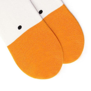 1 Pair Untitled Goose Game Socks Animal Funny Unisex Casual Cottton Sock