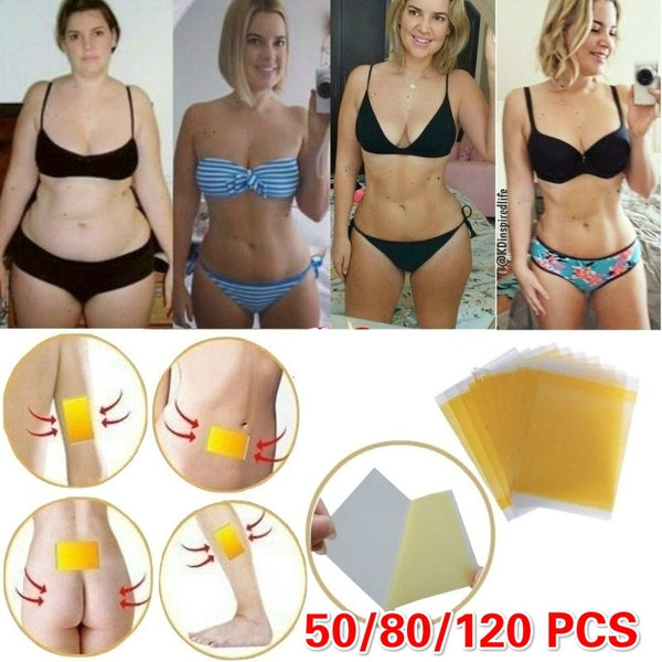 Hot! Effective Detox Adhesive Sheet Lose Weight Patch Slimming Patch Navel Stick Fat Burning Detox Lose Weight Diets Pads for Women Men Slimming
