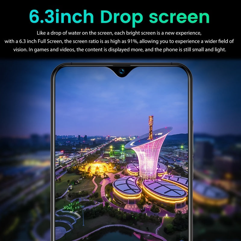 2019 New Launch Global Unlocked 4G LTE Android Smartphone 5G Version (Customzie Max 8GB RAM+256GB ROM)