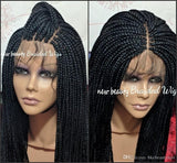 Free Part Box Braids Wig black/brown/blonde /red brazilian full lace front Wig Jumbo braids synthetic wig Baby Hair Heat ResistantFree Part Box Braids Wig black/brown/blonde /red brazilian full lace front Wig Jumbo braids synthetic wig Baby Hair Heat Resi