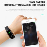 M4 Smart Wristband Waterproof Outdoor Sport Watch Activity Pedometer Fitness Tracker Heart Rate Monitor Smart Watch Blood Pressure Health Care Bluetooth Smart Band