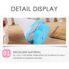 Load image into Gallery viewer, 4PCS/2PCS Washing Machine Lint Filter Bags Laundry Reusable Hair Catcher Home Floating Lint Mesh Pouch