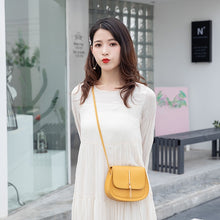 Load image into Gallery viewer, Women's Bag New Tassel Small Round Bag Women's Messenger Bag Shoulder Bag Female Bag
