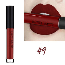 Load image into Gallery viewer, New Red Sexy 12 Colors Long Lasting Waterproof Matte Nude Velvet Lipgloss Liquid Lipstick Gift