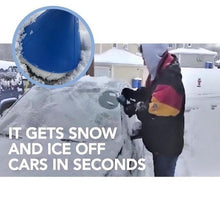 Load image into Gallery viewer, 4 Colors  Windshield Scrape A Round Snow Shovel Tool Plastic Ice Scraper