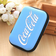 Load image into Gallery viewer, 2019Coca-Cola Holders Handbag Headset Pocket Earphones Earplugs Bag Charger Solid Case of The Holder Coca-Cola Holders Sac ¨¤ Main Casque Poche Ecouteurs Bouchons D'oreilles Sac Chargeur Cas Solide Du Titulaire