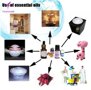 12/36 Pcs Ultrasonic Essential Oil Aroma Diffuser Humidifier Air Aromatherapy Purifier Decor