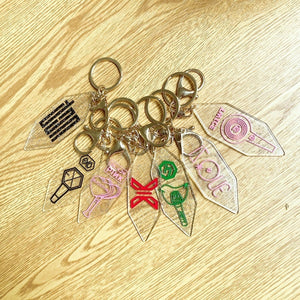 blackpink exo izone nct txt cartoon human key chain Pendant Periphery Same Paragraph
