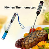 Digital BBQ Therometer Instant Read Meat Thermometer for Grill and Cooking Ultra Fast Digital Kitchen Probe