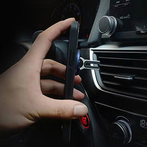 360 Degree Rotation Metal Finger Ring Phone Holder Car Air Vent Stand