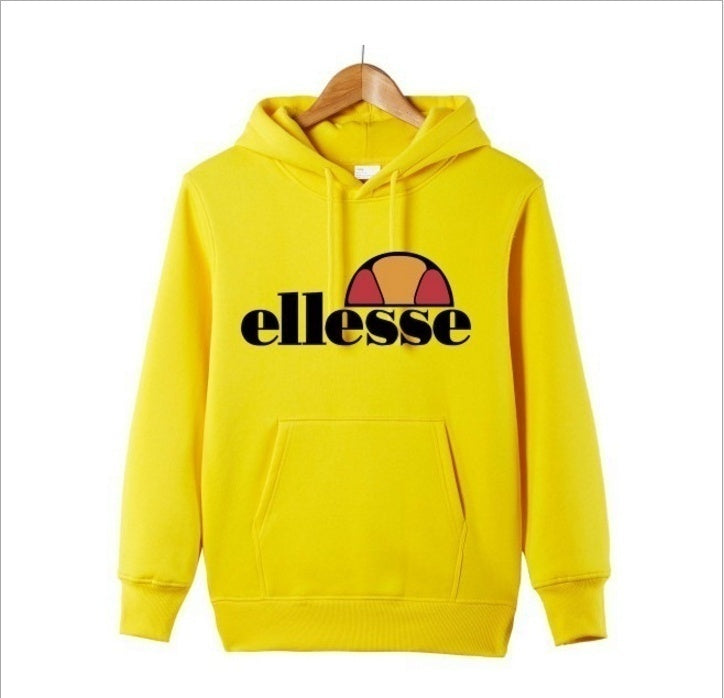 Fashion Women Ellessse Hoodies Casual Pullover Sweatshirts Printed Hoodie Women Long Sleeve Tops