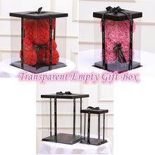 Load image into Gallery viewer, Empty Gift Box for Artificial Teddy Bear Rose Flower Gifts Box