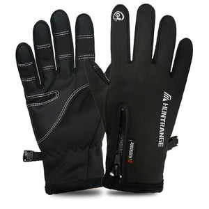 Thick Warm Antiskid Men Women Winter Outdoor Sports Motorcycle Gloves Waterproof Touch Screen Guantes Para Moto