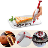 Silicone Icing Cream Pipe DIY Writing Food Pen Chocolate Cake Decor