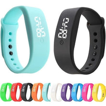 Load image into Gallery viewer, Fashion Children LED Watch Digital Watch Silicone Sport Bracelet Watch