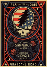 Load image into Gallery viewer, Rock Music Grateful Dead retro posters kraft wall paper High Quality Painting For Home Decor wall stickers