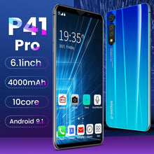 Load image into Gallery viewer, New Hot High Version P41 Pro 6.1 Inch Screen Android Phone 8GB+128GB Bluetooth Wifi 13MP+18 MP Camera Mobile Phone 10 Core 4G Smart Phone