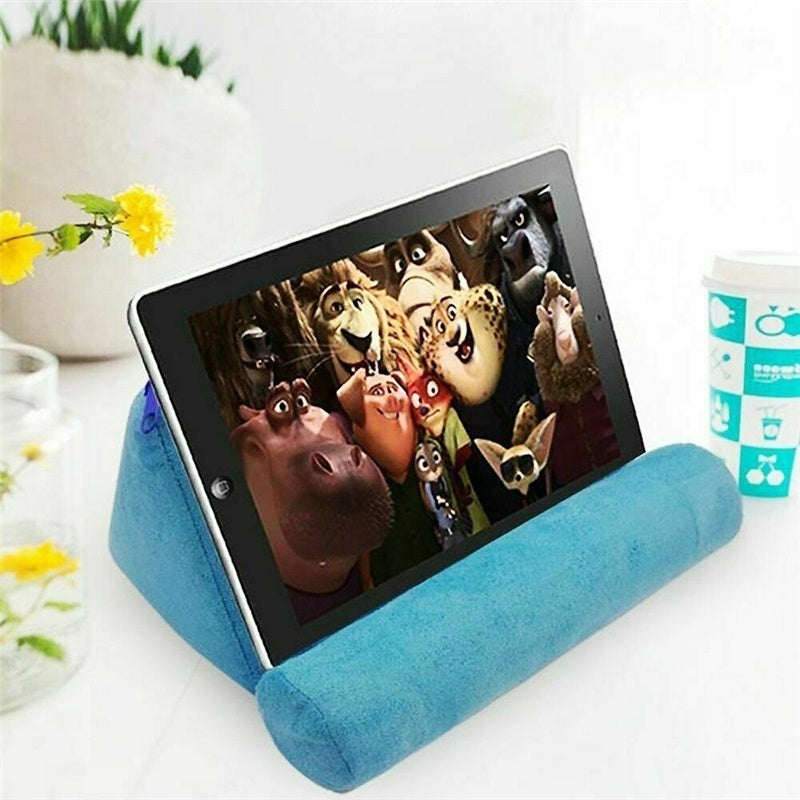 Tablet Holder Stand Pillow Foam Book Mount Stand Rest Reading Bed Support Cushion For iPad/phone/book