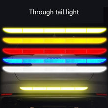 Load image into Gallery viewer, 1Pcs Car Reflective Strip Warning Tape Stickers Car Safety Sticker Auto Accessories