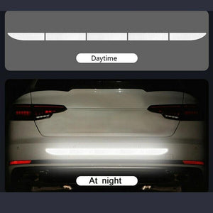 1Pcs Car Reflective Strip Warning Tape Stickers Car Safety Sticker Auto Accessories