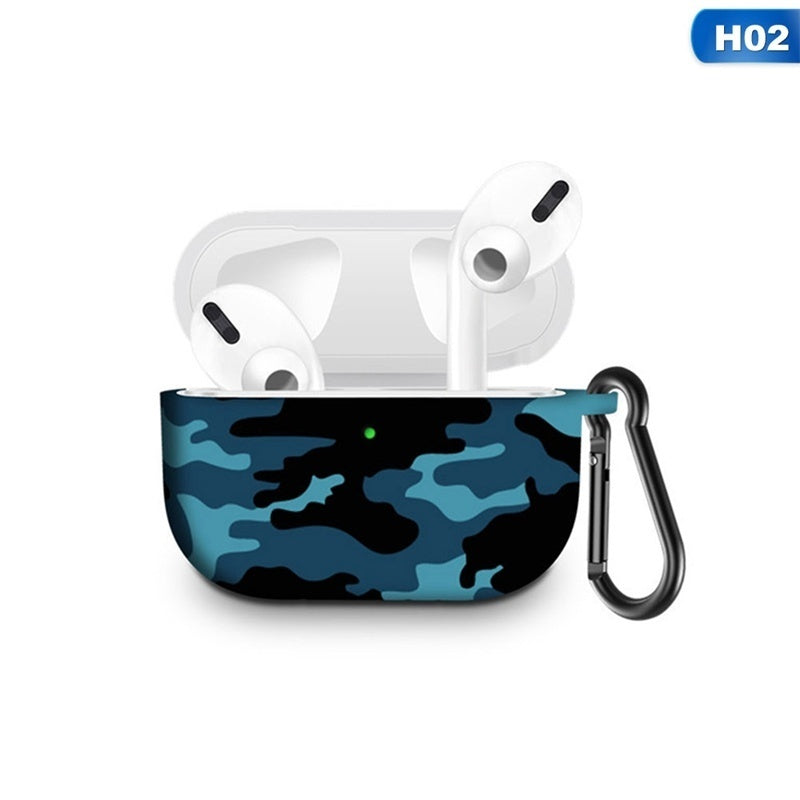 Colorful Silicone Case For Apple Airpods Pro Earphone For Airpods Pro Case Wireless Bluetooth Headset Cover Shockproof Bag For Airpods 3(Only Case,No Airpods)