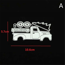 Load image into Gallery viewer, Steel Cutting Dies Christmas Car Stencils New 2019 for Diy Scrapbooking Album Embossing Paper Card Crafts Template