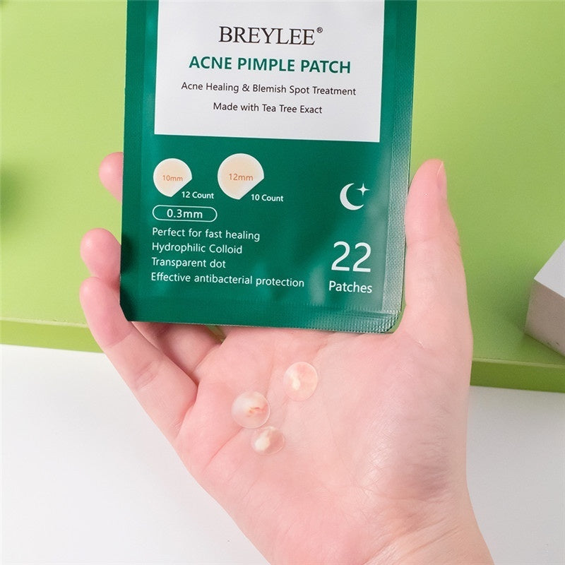 22 Pcs Ultra-thin Anti-Infection Unisex Beauty Skin Care Tools Anti Blackhead Blemish Waterproof Acne Stickers Daily+Night Remove Acne Pimple Patch Sticker