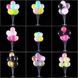 1set Happy Birthday Balloon Air Balls Stick Stand Baloon Birthday Party Decor Kid Adult Arch Table Ballon Accessories Holder