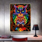Diamond Painting New Arrival Animals Smol Owl Full Square/Round  Rhinestones Home Decoration