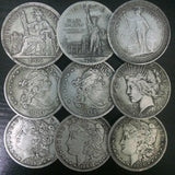 American 1 Dollar Silver Coin Currency Morgan Antique Commemorative Collectible Coins 1pcs US Old Coins $1