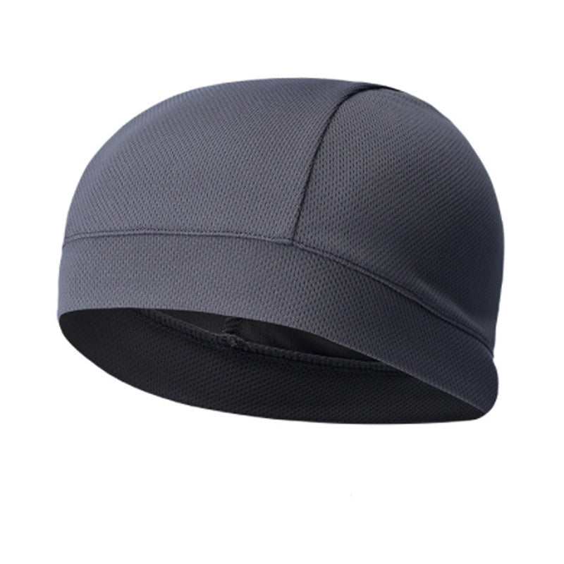 Bicycle Motorcycle Inner Lining Hood Breathable Head Quick-drying Cap Outdoor Riding Sports Cloth Hat