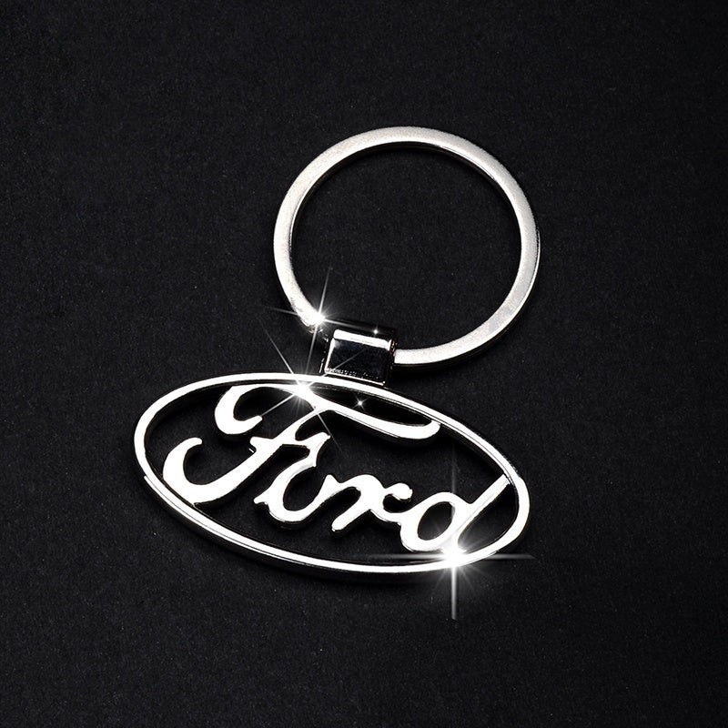 Fashion 38 Kinds Of Car Zinc alloy Hollow Or Colorful Car Logo Keychain Key ring With Car badge emblem For Nice Gift for Man Woman