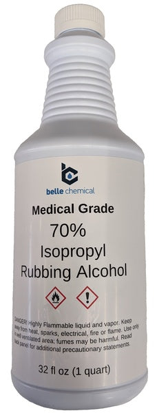 Medical Grade Isopropyl Alcohol (70%) (32oz)