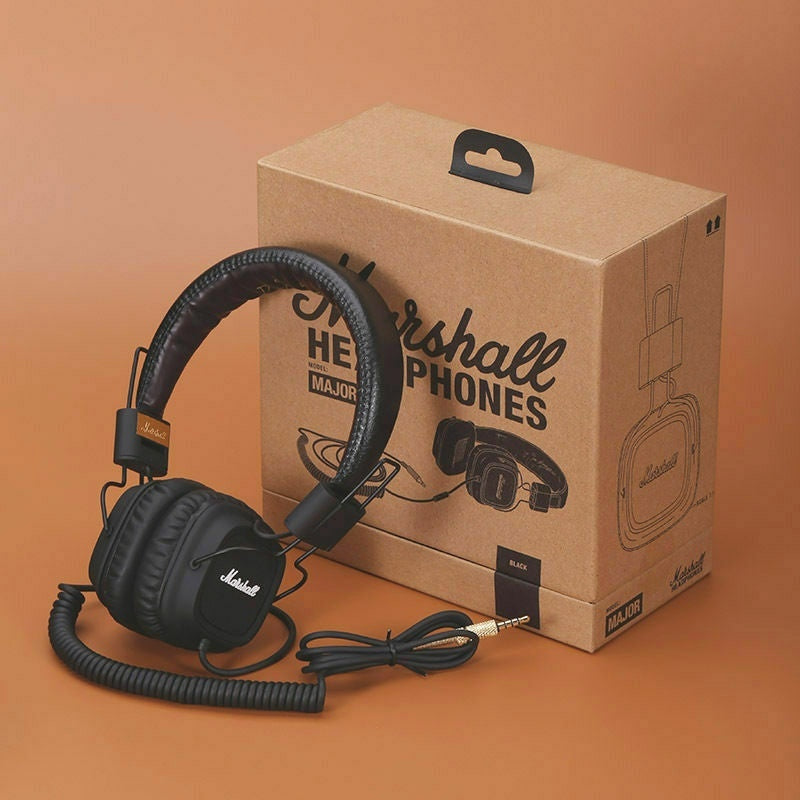 2020 Original Refurbished Marshall Major Headphones Noise Cancelling Deep Bass Stereo