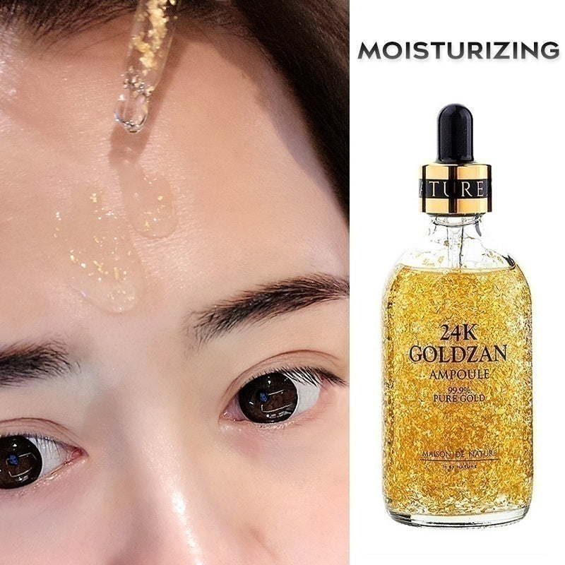 15ML/30ML 24K Gold Essence Anti Wrinkle Aging Face Collagen Moisturizing Hyaluronic Acid Nicotinamide Liquid Moisturizing