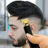 USB Power 0 mm & 120 Minutes Durable T-Outliner Skeleton Heavy Hitter Cordless Trimmer for Men and Professional Barber Baldheaded Hair Clipper Finish Hair Cutting Machine