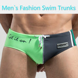 Men Swimwear Shorts Casual Beach Wear Printing Swimming Trunks Beach Pants with 3 Colors