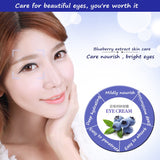 BIOAQUA Wonder Blueberry Lighting Eyes Gel Anti Wrinkle Eye Cream Anti-Puffiness Dark Circle Anti-Aging Moisturizing Eye Care