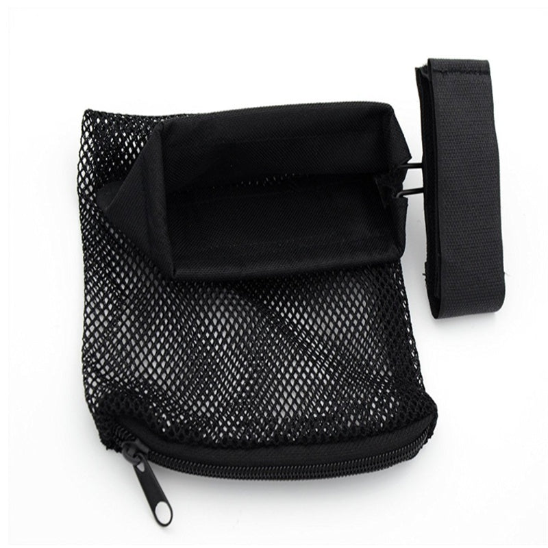 New Black Nylon Mesh Bag Hunting Bullet Bag Bullet Shell Recycling Bag Tactical Collecting Bag