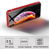Mini Smart Phone 2.5 inch Android 4G LTE Smartphone Quad Core 3G WCDMA Dual SIM Cards CellPhone