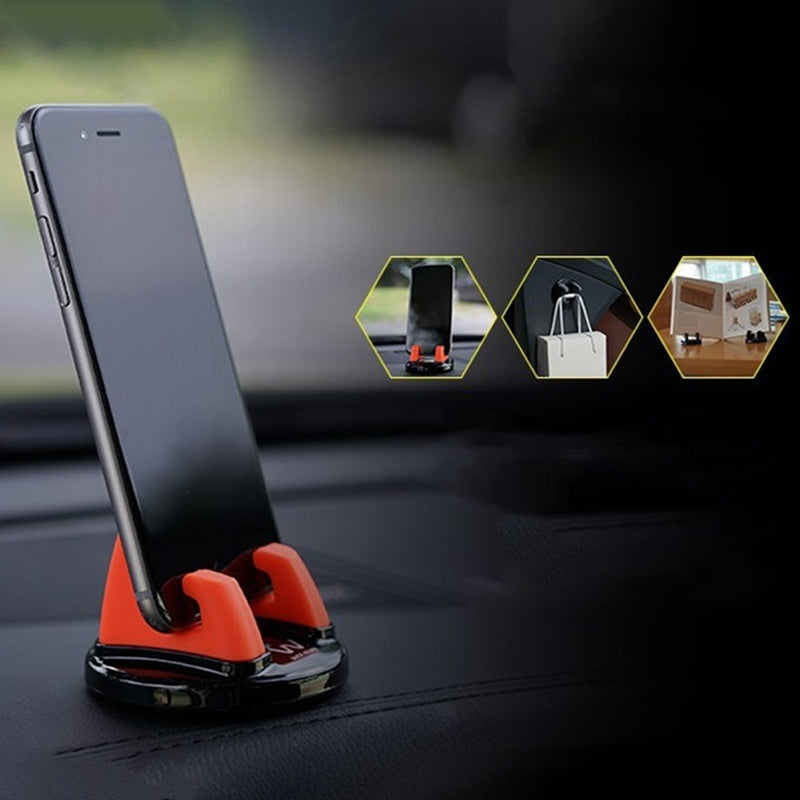 6 Colors Vehicle Phone Holder Stands Rotatable Support Anti Slip Mobile 360 Degree Mount Dashboard Gps Navigation Universal Phone Stand