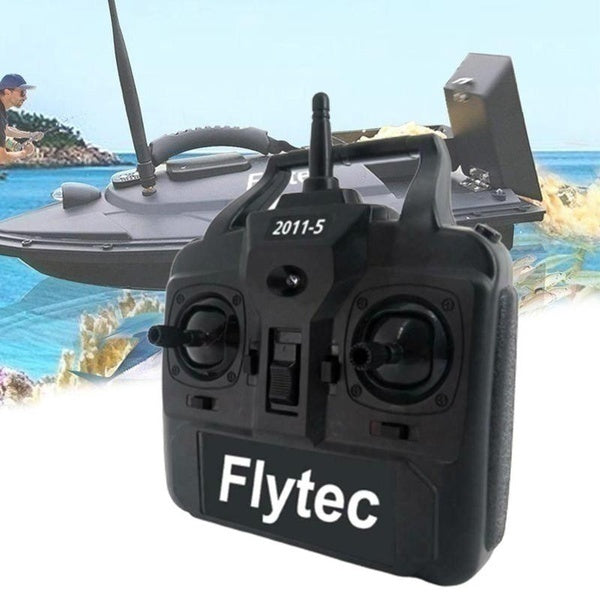 Pro Fishing Bait Boat Controller Flytec 2011-5.012 Remote Control Fish Finder Bait Feeder Controller 900m Real Realize Controller without Blocking
