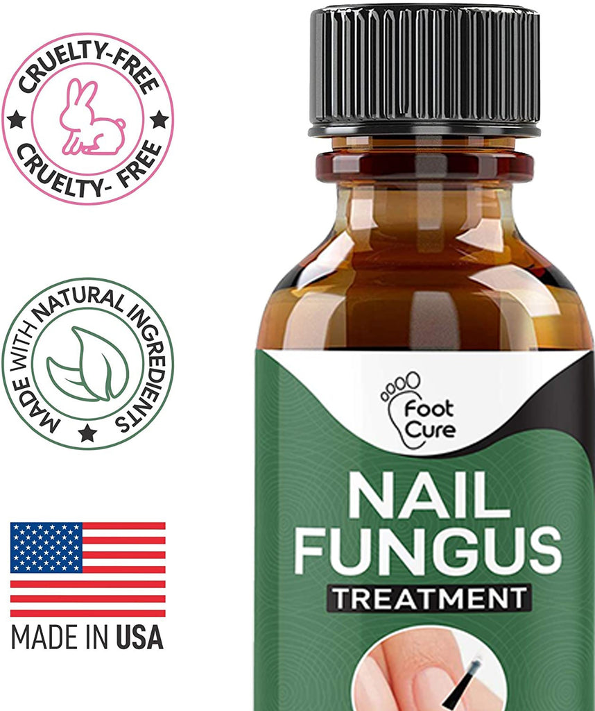 EXTRA STRONG Nail Fungus Treatment, Best Nail Repair, Stop Fungal Growth, Effective Fingernail & Toenail Health Care Solution, Fix & Renew Damaged, Broken, Cracked & Discolored Nails