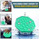 1x Bubble Sensory Fidget Toy Stress Relief Special Needs Silent Classroom