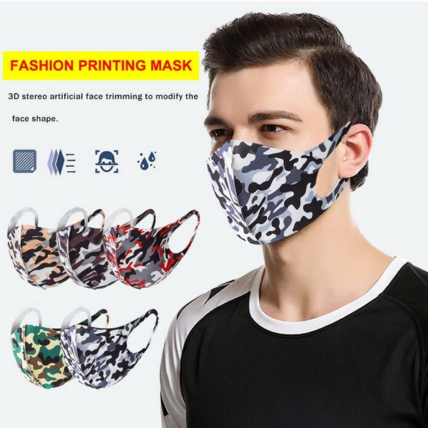 5 Colors Dustproof Face Mask Anti Dust Protective Face Masks for Women Men